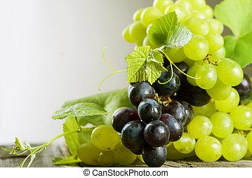 束, 葡萄