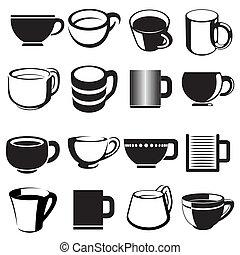 杯子, 集合, 圖象