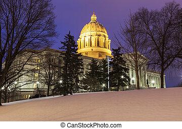杰斐遜城市, 密蘇里, -, 入口, 到, 說明美國洲議會大廈大樓
