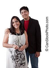 東インドである, 母 と 息子