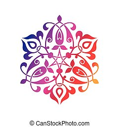 東洋人, アラビア, 装飾