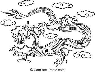 東洋人, ドラゴン