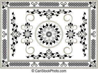 東洋人, フレーム, pattern.