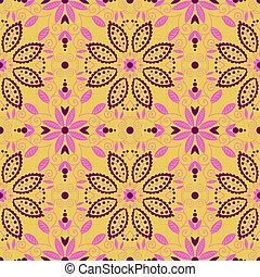 東洋人, 伝統的である, ornament., seamless, pattern.