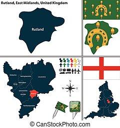 東, midlands, rutland, イギリス