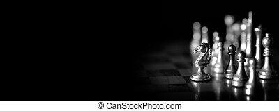板, チェスの ゲーム, 小片, 遊び, 作戦