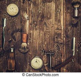 板, 付属品, ムード, ひげそり