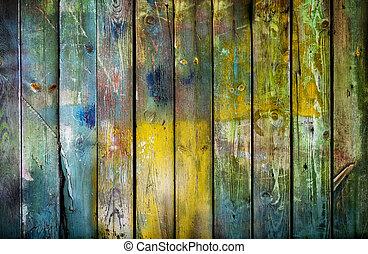 板, 手ざわり, 木, 古い