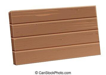 板, 木製である, 現実的, ベクトル, sighboard, 3d