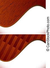 板, 背景, 寄せ木張りの床