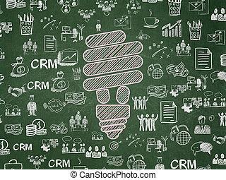 板, concept:, 学校, 背景, エネルギー, セービング, ランプ, ビジネス