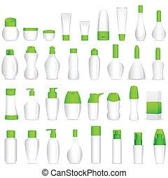 构成, 化妆品, 瓶子