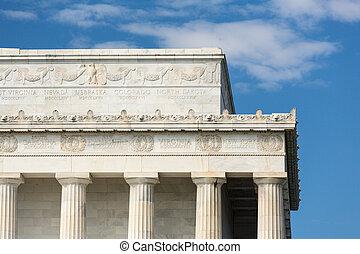 林肯, 華盛頓特區, 紀念館