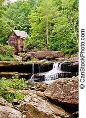 林間の空き地, 入り江, grist, 製粉所