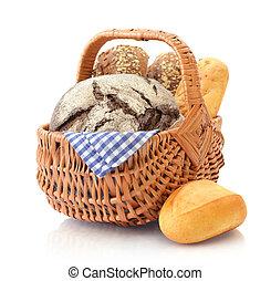 枝編み細工, パン ロールスロイス, バスケット