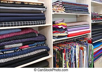 架子, 由于, 織品, 在, 時裝, 房子