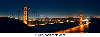 架桥, 门, 金色