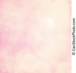 柔らかい, ピンクの背景