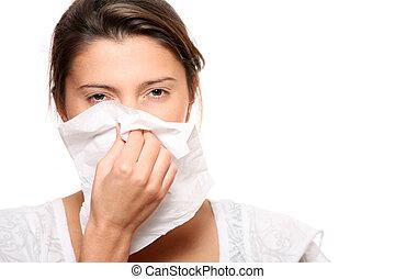 柔らかすぎる 鼻