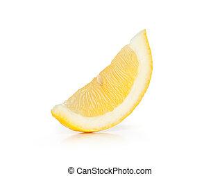 柠檬色的片段