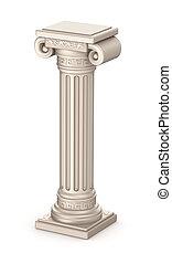 柱, 古代