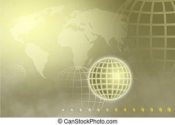 柵格, 全球