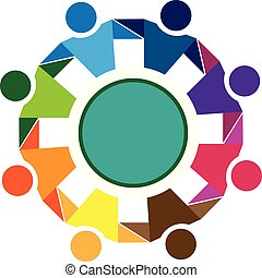 标识语, 友谊, 社区, 配合