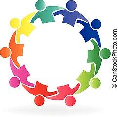 标识语, 配合, 社区, 人们