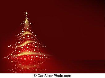 树, 圣诞节