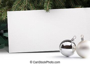 树, 背景, 圣诞节