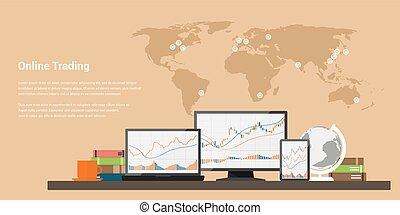 株取引, オンラインで