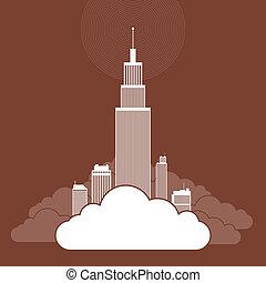 株式会社, 基づかせている, 雲
