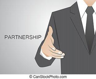 株式会社, 握手, congratulatory, 決定, コミュニケーション