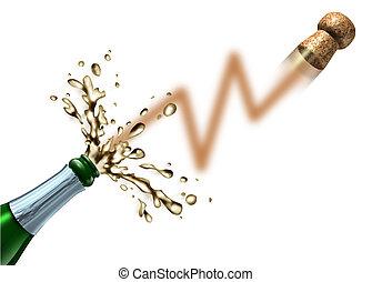 株式 市場, 発射