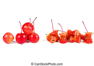 核心, 蘋果, 螃蟹