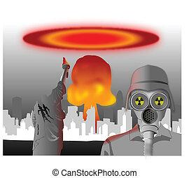 核, 災害