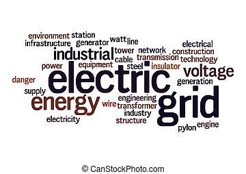 格子, 雲, 電気である, 単語, 概念