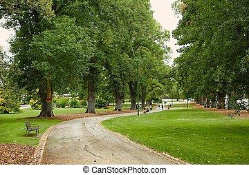 格林公園, 樹