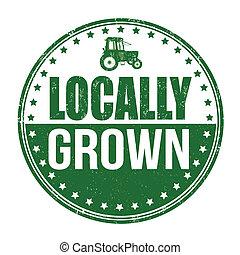 栽培された, 切手, locally