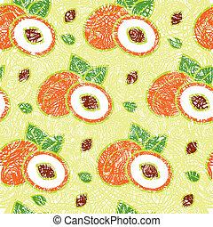 桃, パターン