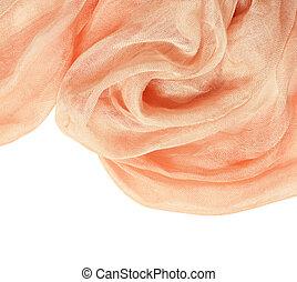 桃, 背景, ひだのある布