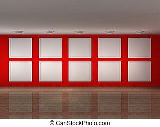 框架, 博物馆, 描述