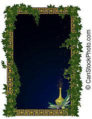 框架, 常春藤, 橄欖