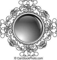 框架, 有光澤, 輪