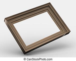 框架, 木制