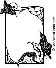 框架, 植物