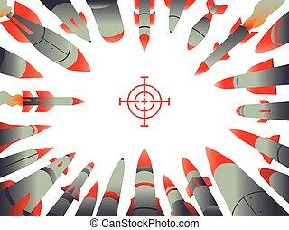 框架, 火箭, 攻击