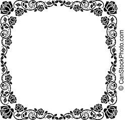 框架, 玫瑰