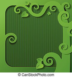 框架, 綠色