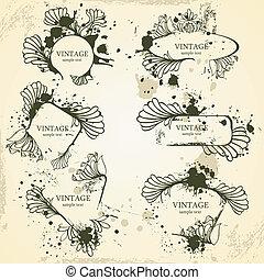 框架, 葡萄酒